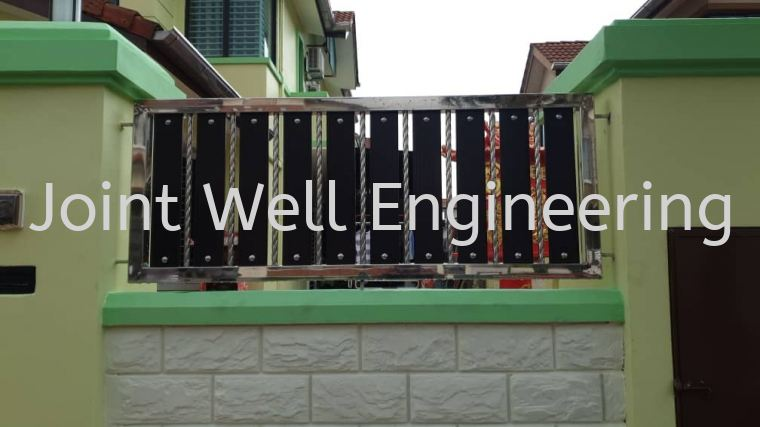 Stainless Steel Side Fencing Stainless Steel Fencing