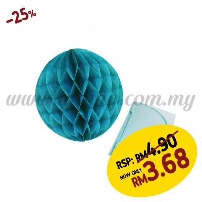 20cm Honeycomb Ball Medium Blue (PD-HC20-15)