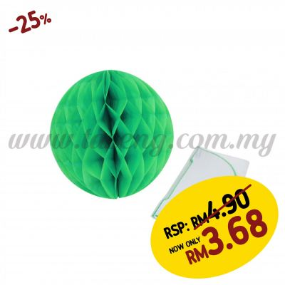 20cm Honeycomb Ball Mint Green (PD-HC20-11)