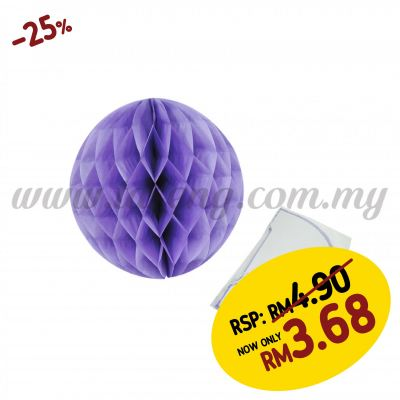20cm Honeycomb Ball Lavender (PD-HC20-06)