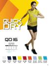 QD 16 Plain Oren Sport - Quick Dry T-SHIRT