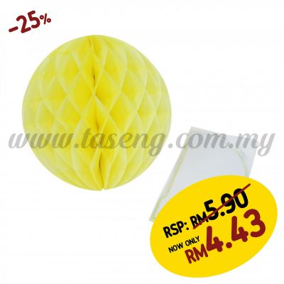 25cm Honeycomb Ball Yellow (PD-HC25-03)