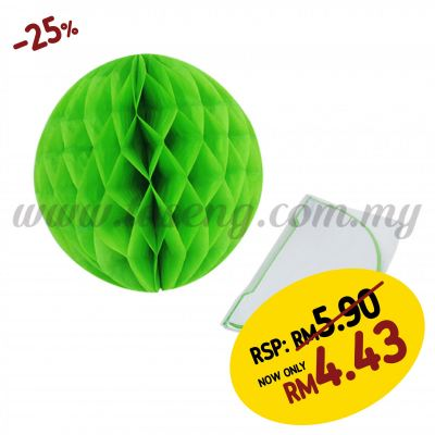 25cm Honeycomb Ball Lime Green (PD-HC25-04)
