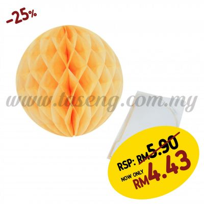 25cm Honeycomb Ball Gold Yellow (PD-HC25-13)