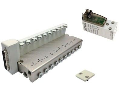 CPV15S Series--Manifold,solenoid valve and blank plate
