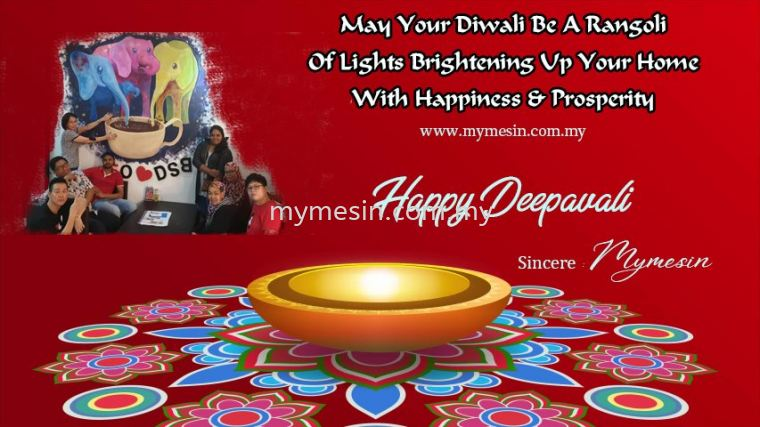 Happy Deepavali From Mymesin
