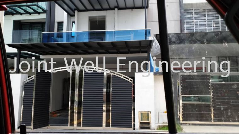 Balcony Railing With Glass  Tempered Glass Stainless Steel Balcony Railing