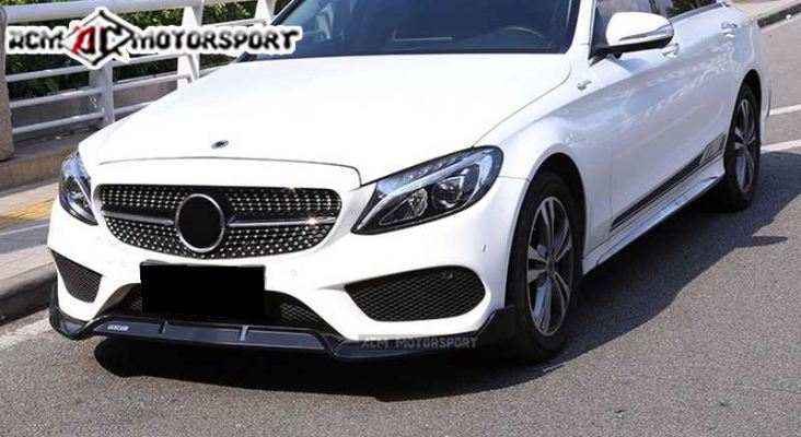Mercedes Benz W205 Brabus style front lip