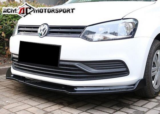 Volkswagen polo facelift front difusser
