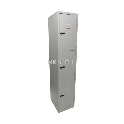 3 Compartment Locker Addition Shelves - Combination Lock