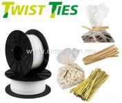 Twist Ties Bag Closures