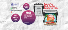 Upgrade Your Large Format Printer with 0% Installment Payment Option Up to 12 Months