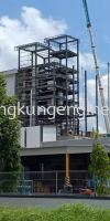 JB Cocoa Butter Tower (PTP) Structure Steel Works
