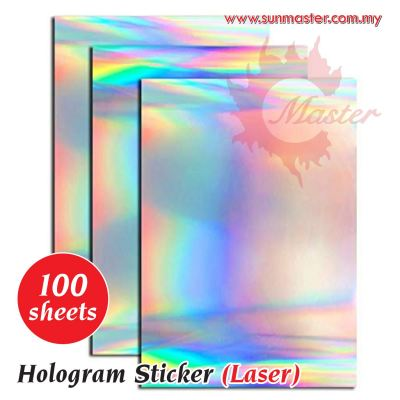 A4 Hologram Sticker (100s)