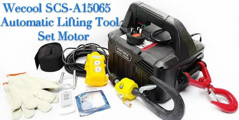 WECOOL SCS-A15065 AUTOMATIC LIFTING TOOL SET MOTOR (MAX CAPACITY : 100KG / LIFTING HEIGHT : 65FT/20M)