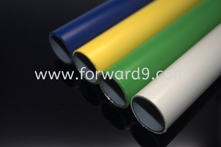 ABS Coated Pipe - Dia 28mm x 1mm x 4m  Pipes Pipe & Joint System Racking System