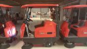 Road Sweeper W1350 9 Road Sweeper Floor Cleaning / Maintenance