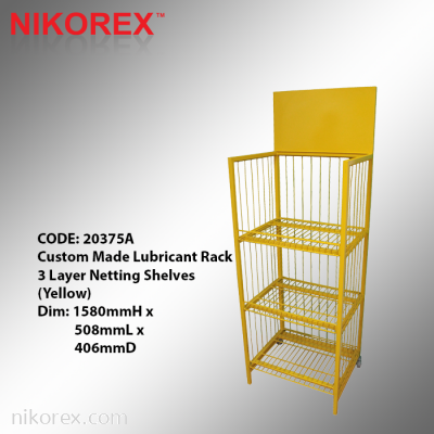 20375A - Lubricant Rack 3 Layer Netting Shelves