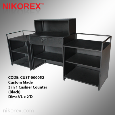 CUST-000052 - 3 in 1 Cashier Counter