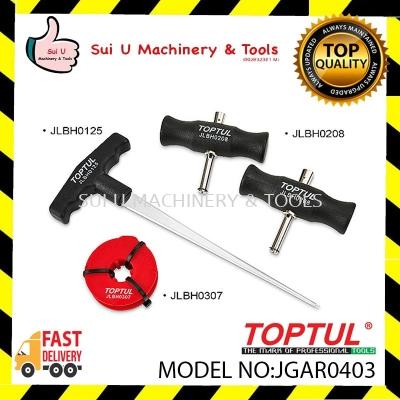 Toptul JGAR0403 4pcs Windshield Removal Tool Set
