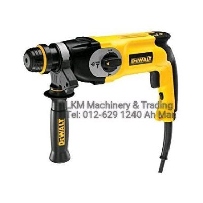 DEWALT 26mm 3 Function Rotary Hammer SDS Plus 800w D25133K