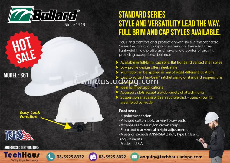 Bullard Hard Hat S61 Promotion