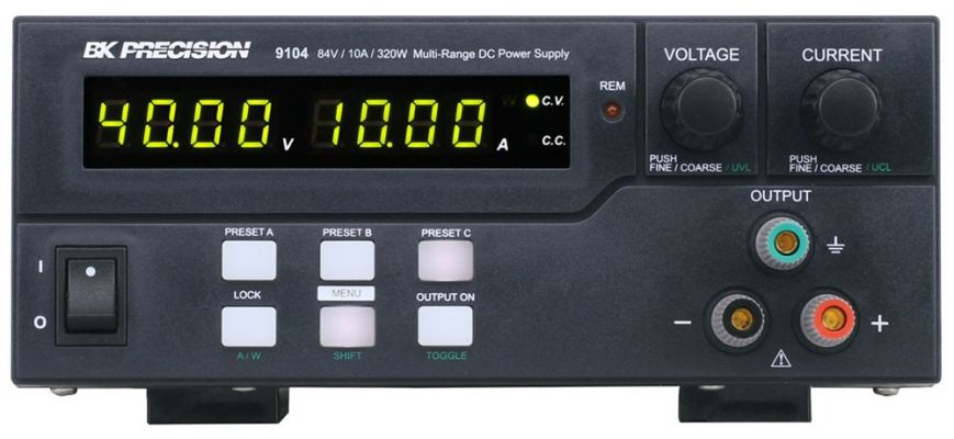 320 W Multi-Range DC Power Supplies Model 9104
