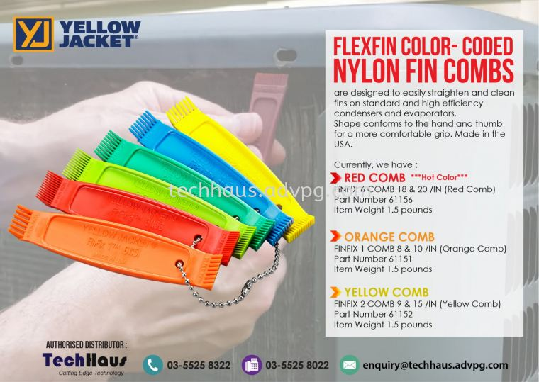 Ergonomic FinFix Combs Promotion