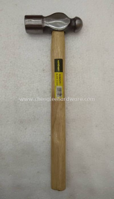 001503 2.5LBS BALL PEIN HAMMER WITH WOOD HANDLE