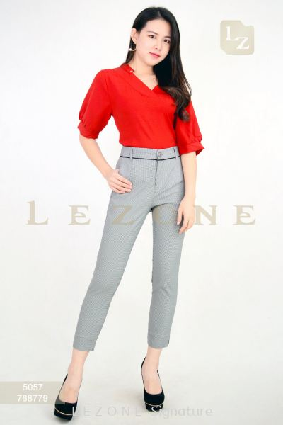 768779 PLAID LONG PANTS ��1st 10% 2nd 20% 3rd 30%��