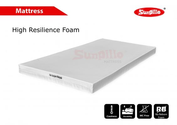 HIGH RESILIENCE FOAM MATTRESS
