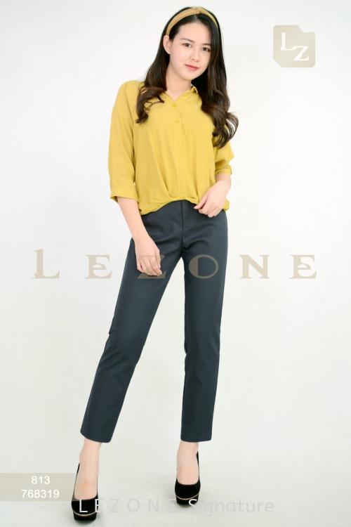 768319 POCKET DETAIL LONG PANTS【2nd pcs onwards 50%】