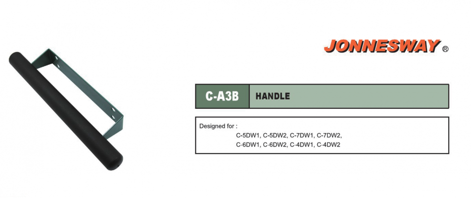 HANDLE FOR TROLLEY P/N: C-A3B