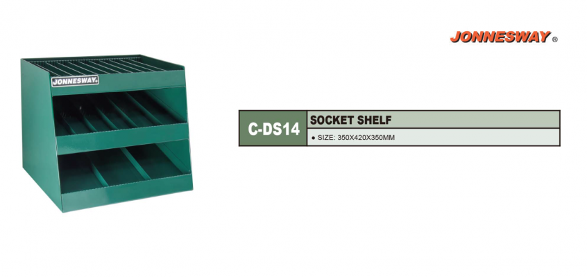 SOCKET SHELF P/N: C-DS14