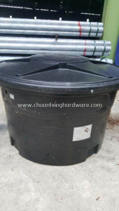 Poly water tank round shape
