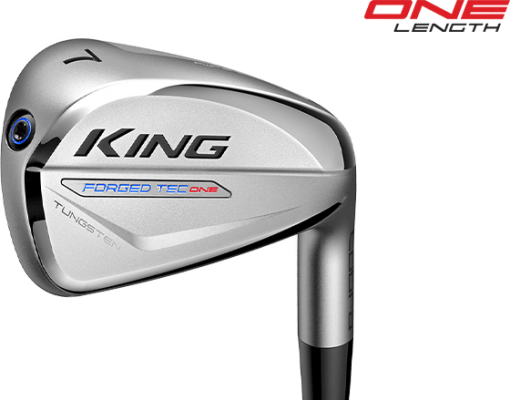 KING Forged Tec ONE Length Irons 5-9,PW NS PRO 950GH R FLEX 6 PIECES IRONS