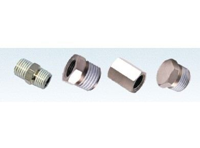 One-touch fittings---threaded type