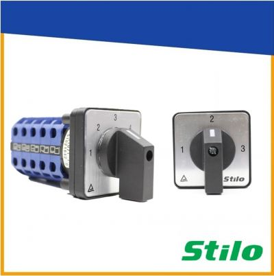 STILO Spring Return Selector Switch - 16A