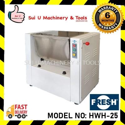 FRESH HWH-25 1.5kW/230V/50Hz Dough Flour Mixer Bakery Equipment