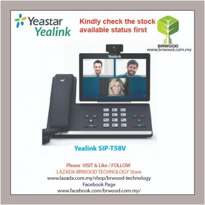 Yealink SIP-T58V: Smart Business IP Phone