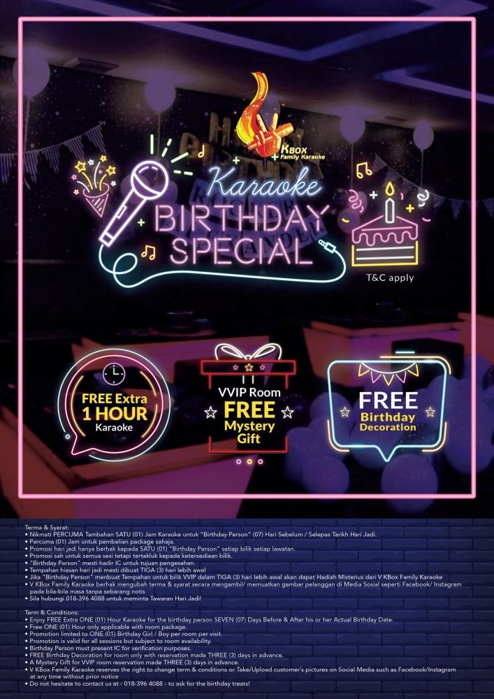 V KBOX Birthday Special