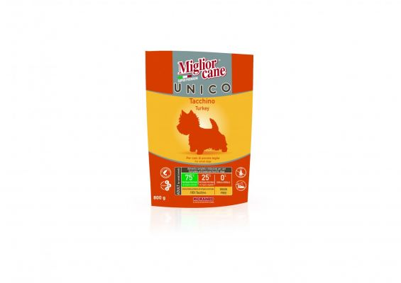 02470 Migliorcane Unico Grain Free 100% Turkey