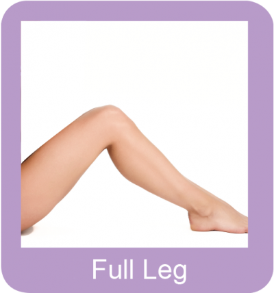 Permanent hair removal full leg