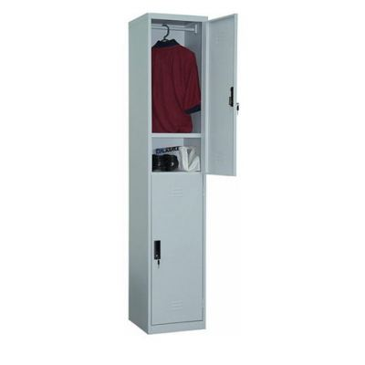 2 Compartment Steel Locker