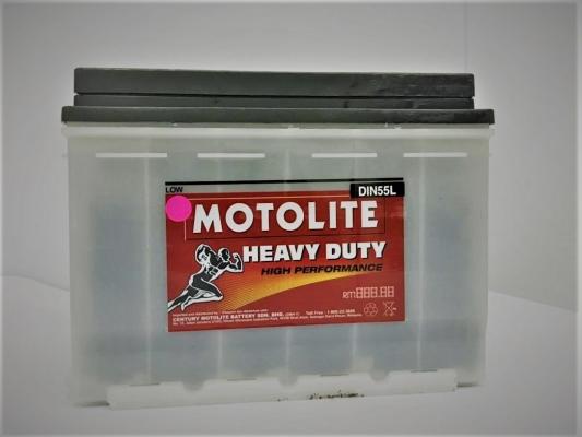 CENTURY MOTOLITE WET DIN55L RM200