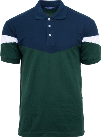 NHB 2905 Navy-Forest Green-White