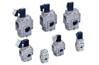 Pilot operated solenoid valve / external pilot operated air drive poppet valve (NP/NAP/NVP)