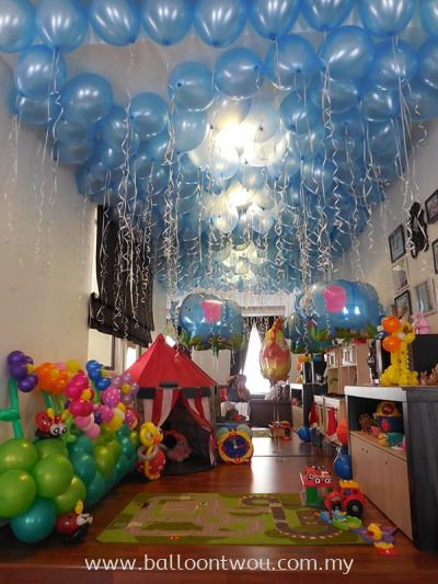 Birthday Party Balloon Decoration