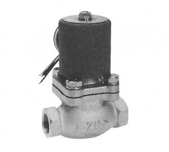 Pilot kick 2-port solenoid valve for water (PKW)