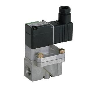 Pilot operated 2-port solenoid valve for compressed air (FAD)